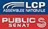 LCP La Chaîne parlamentaire - Public Sénat logo